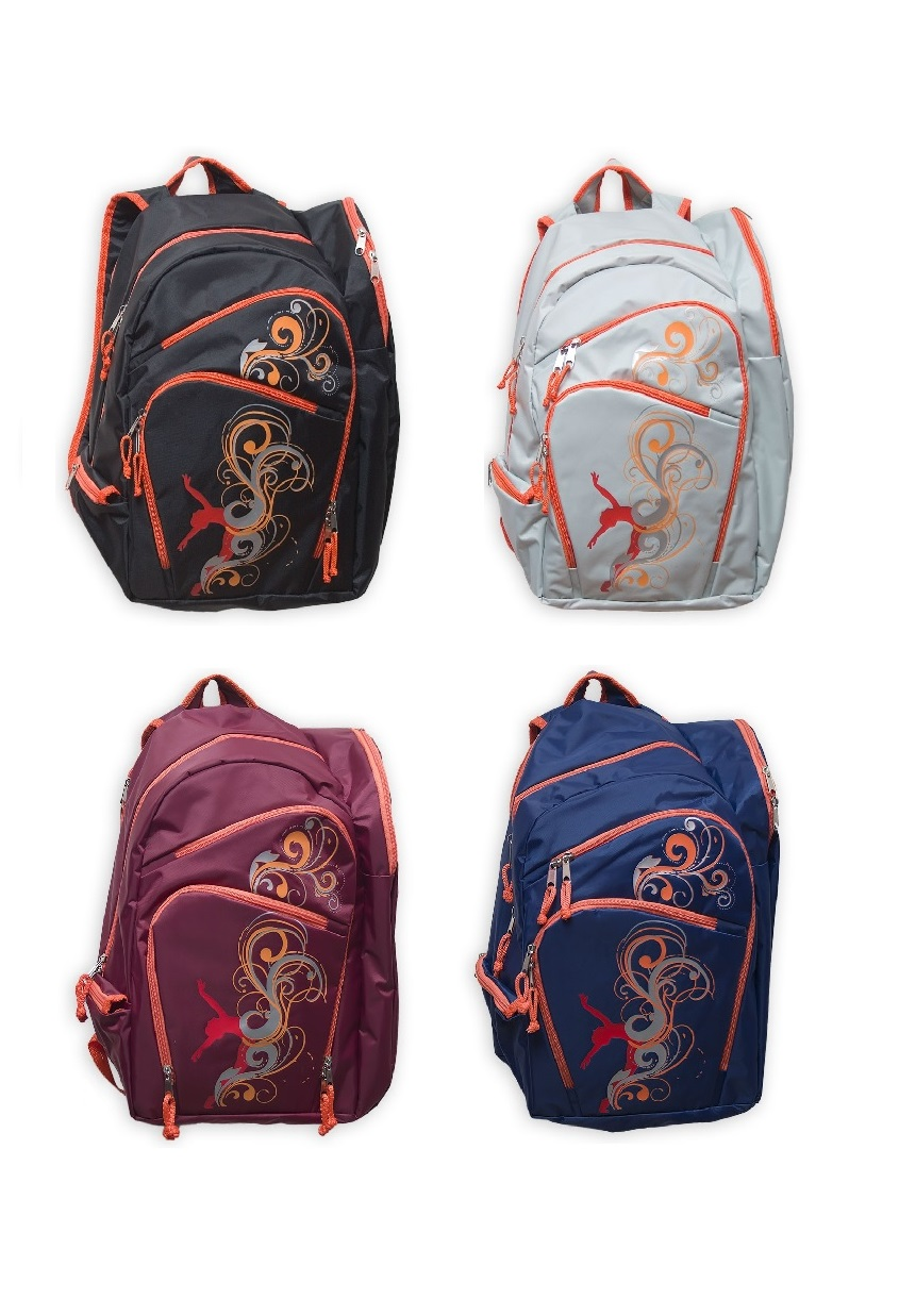 c356e21669da Rhythmic gymnastics backpack LEMON SPORT print Waves.