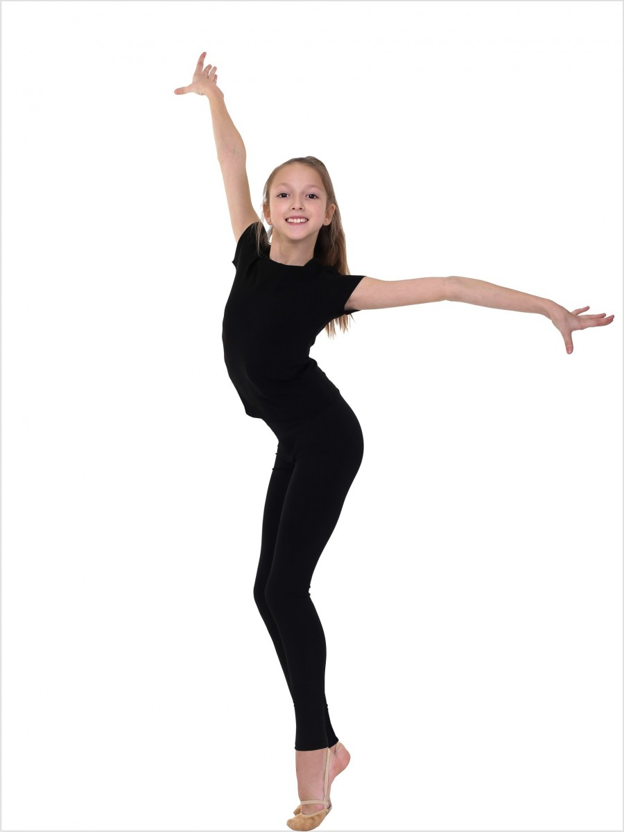 Ankle length gymnastic leggings SOLO FD700 (cotton).