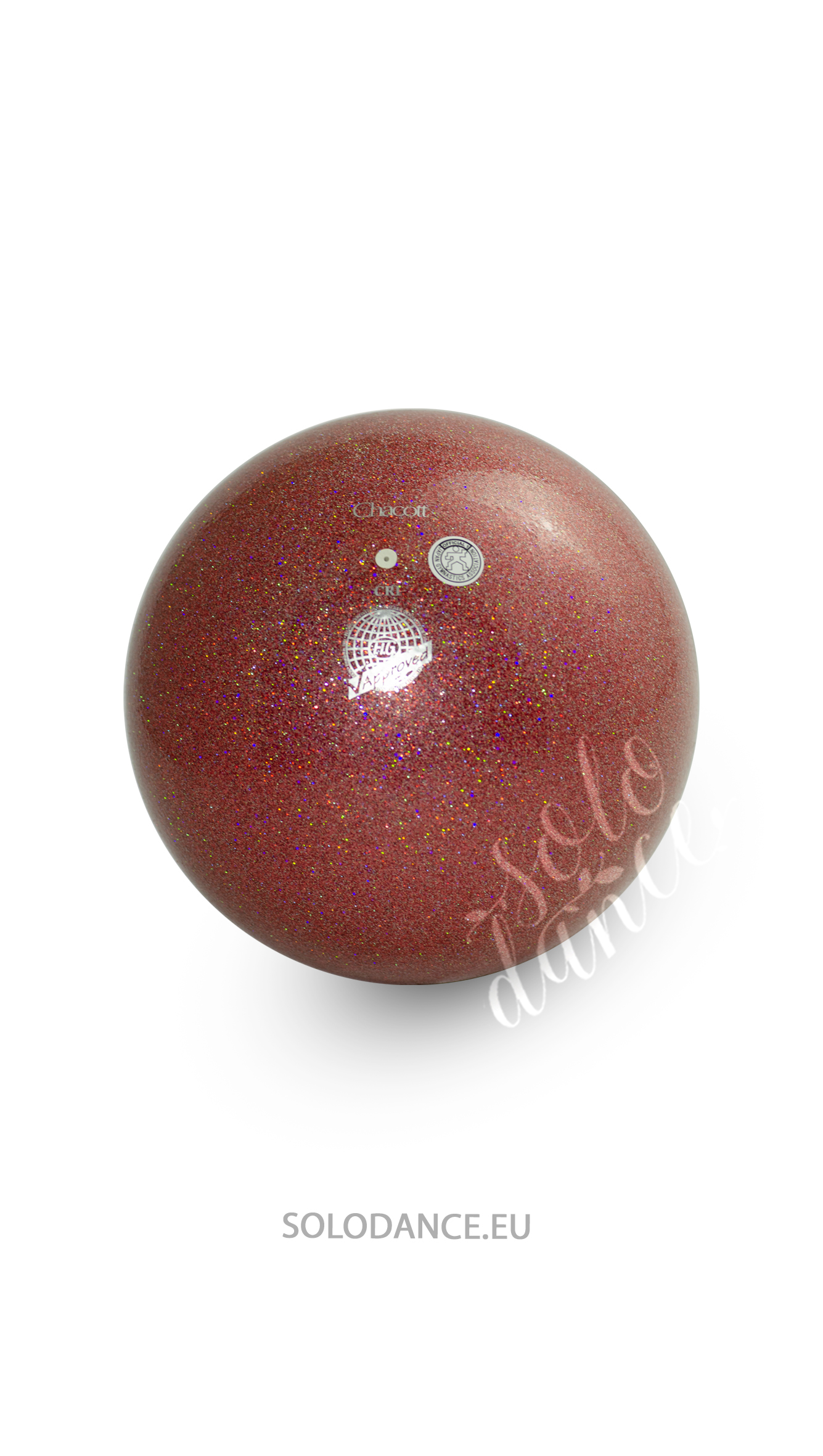 Rhythmic gymnastics ball Chacott Jewelry 558 Garnet