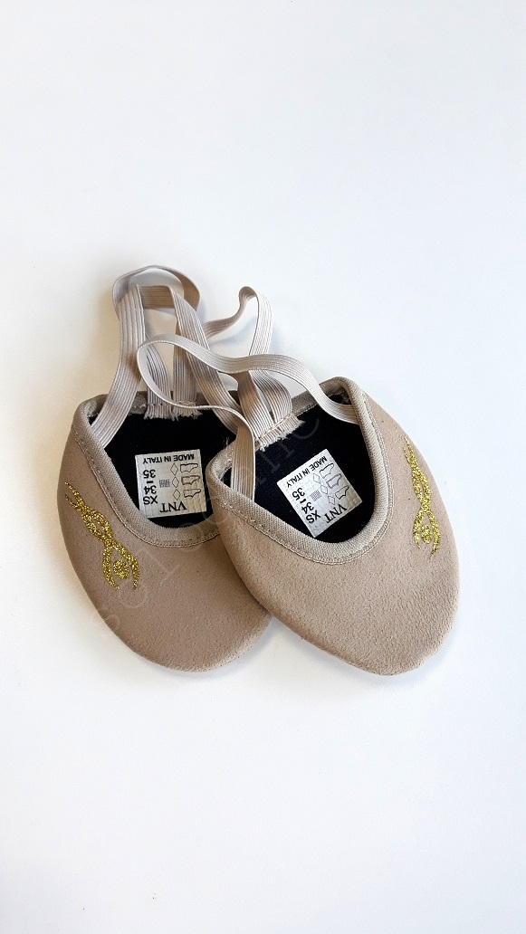Half Shoes for Rythmic Gymnastic Venturelli RG MEISTER MM size XXL