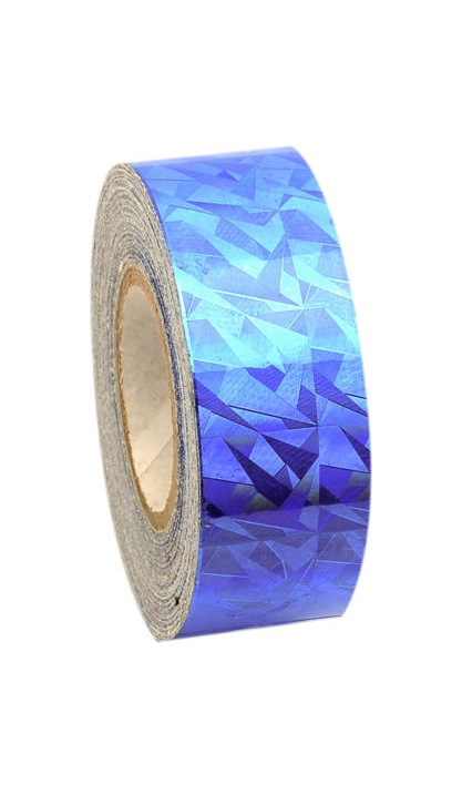 Pastorelli NEW CRACKLE Adhesive Tape Blue 02295