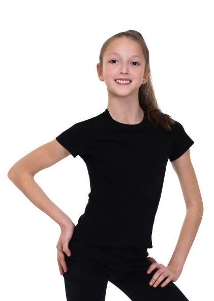 Gymnastics tight-fitting t-shirt SOLO FD650
